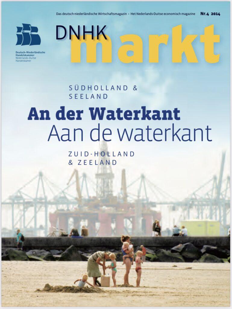 Aan de waterkant economisch magazine DNHK nr 4 editie 2014