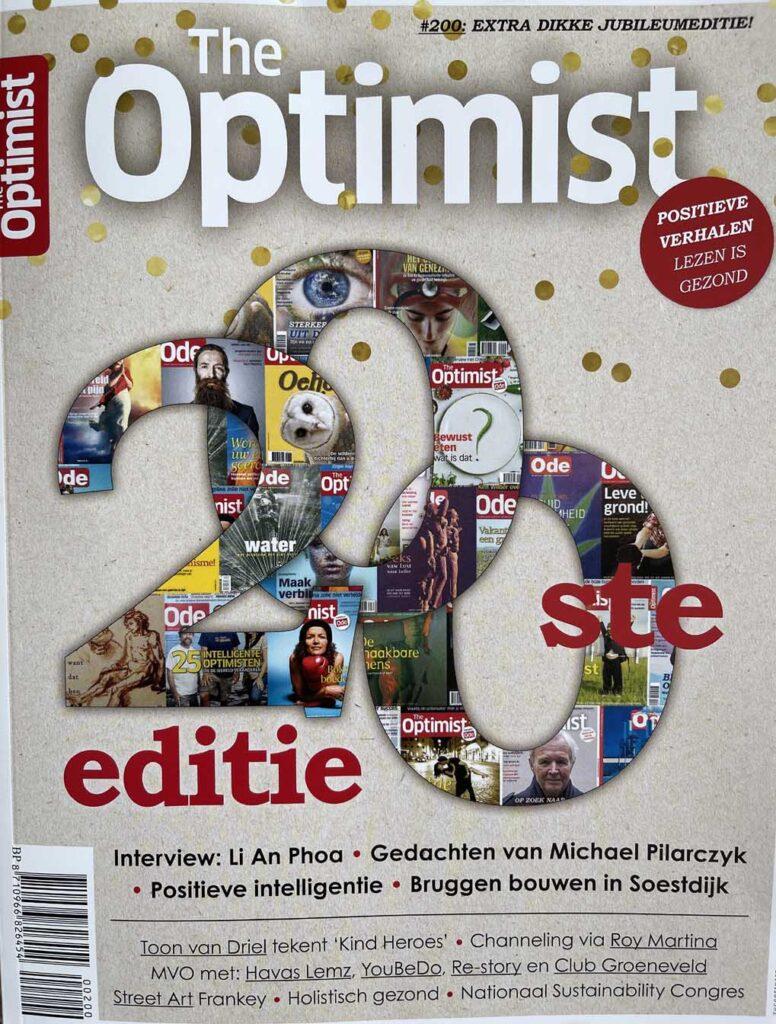 column in The Optimist Magazine sept okt 2021