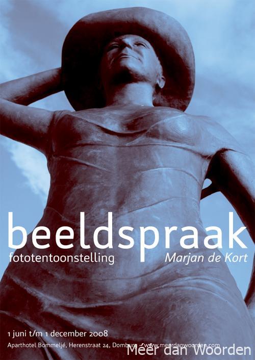 poster fototentoonstelling Beeldspraak